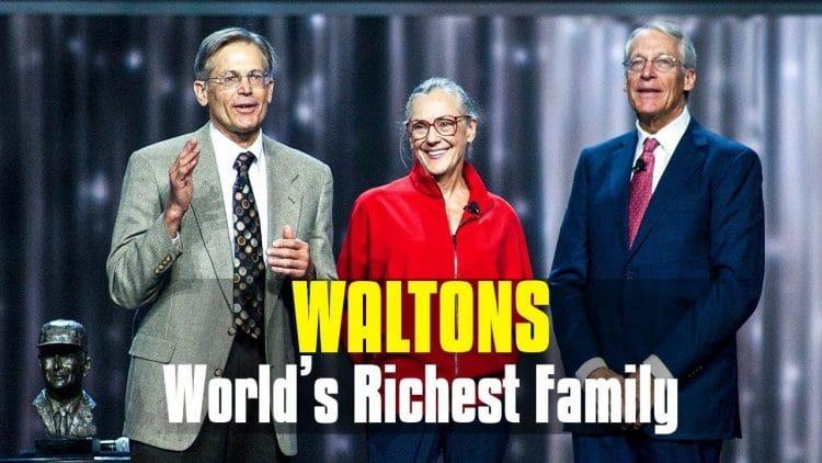 TOP 10 gia tộc giàu nhất Thế giới