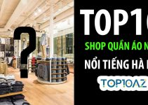 TOP 10 Shop Quần Áo Nam Nổi Tiếng Nhất Hà Nội