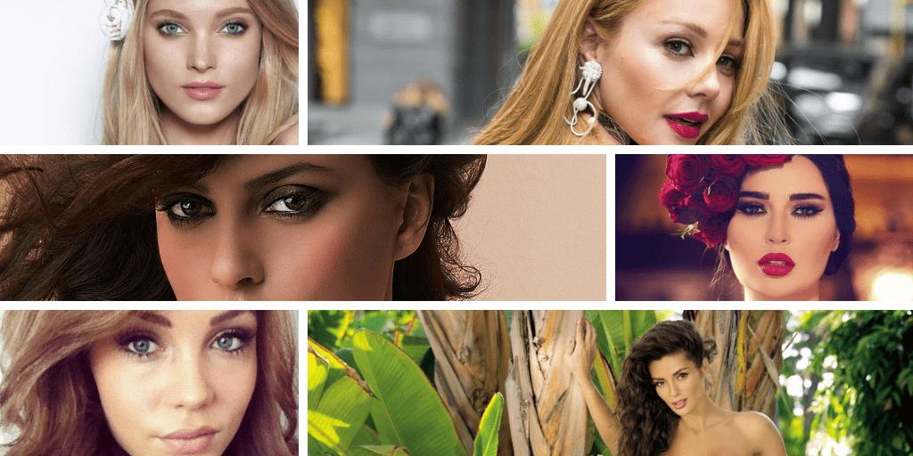 TOP 10 đất nước có phụ nữ đẹp nhất Thế giới