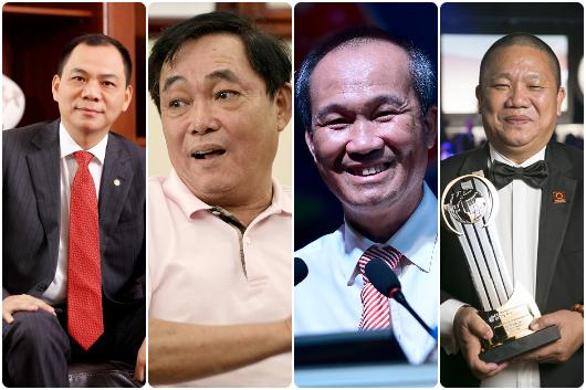 TOP 10 đại gia làm từ thiện nhiều nhất Việt Nam