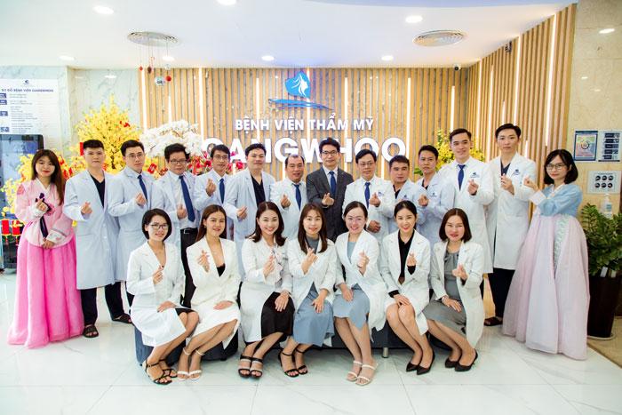 Bệnh viện thẩm mỹ Gangwhoo - Bệnh viện chuẩn Hàn Quốc