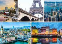 TOP 10 thành phố đắt đỏ nhất Thế giới